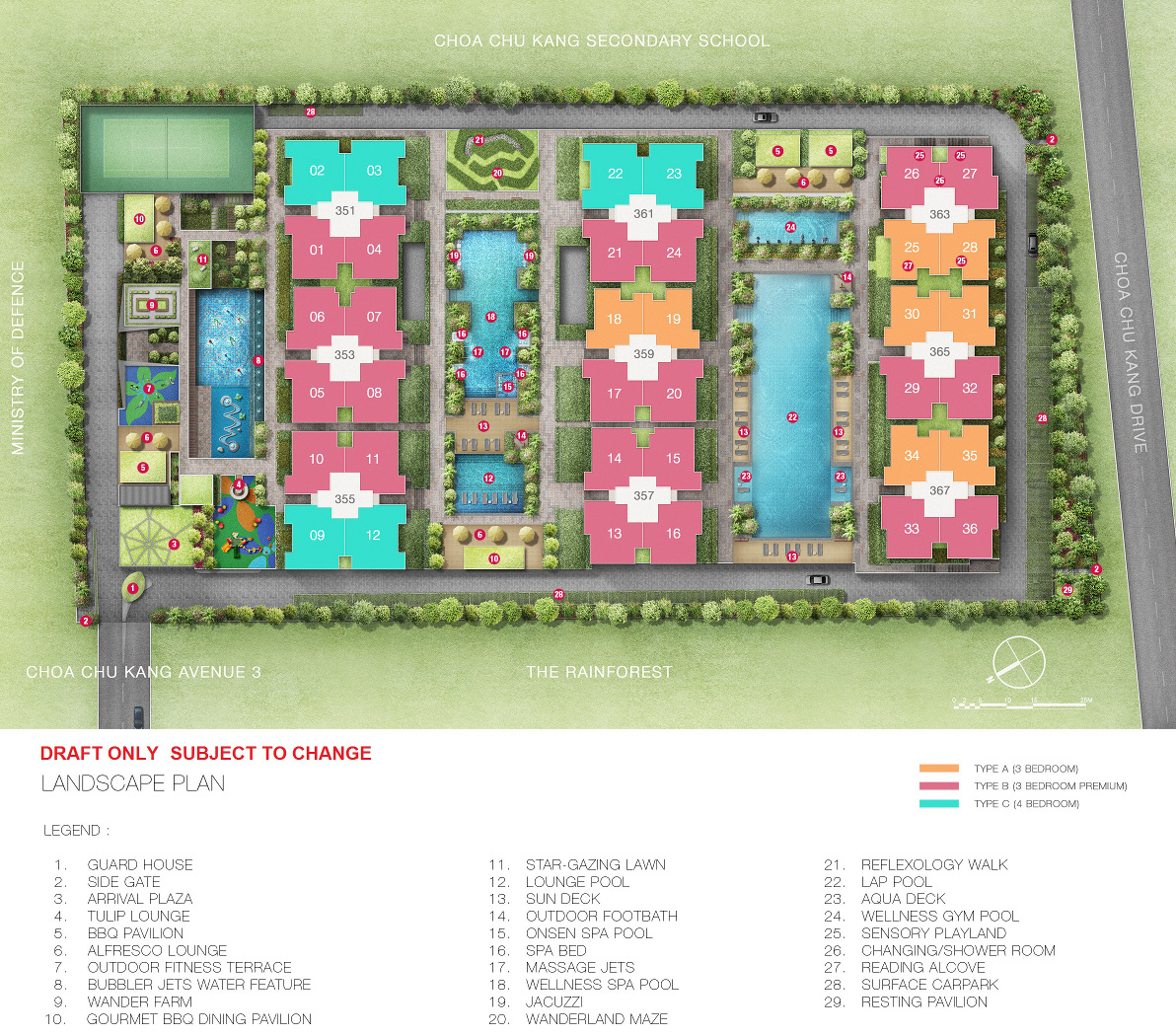 Wandervale EC Site Plan | The Wandervale Site Plan Layout